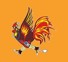 Running Rooster - El Gallo Corredor Unisex T-Shirt