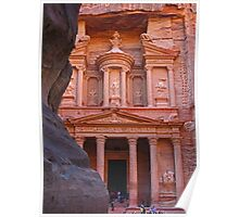 Treasury. Petra. Jordan. Poster