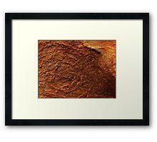 The Hidden Land - Quicksands Of Mars Framed Print