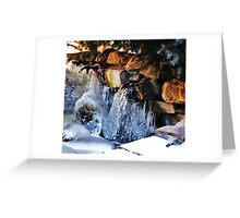 Freezing Greeting Card