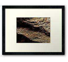 The Hidden Land - Plateau Above Martian Plains Framed Print