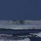 Big Waves Hanalei Beach Kauai by Dennis Begnoche Jr.