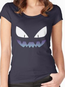 Pokemon - Haunter / Ghost (Shiny) Women's Fitted Scoop T-Shirt
