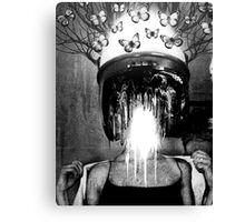 The Ironic Agony of Narcissism Canvas Print