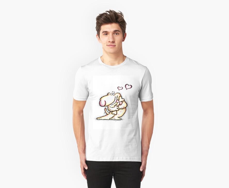 Valentine's Day Love Dog by HolidayT-Shirts