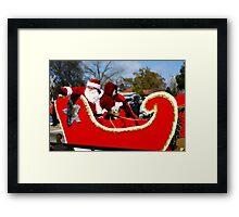 I Love A Christmas Prarade Framed Print