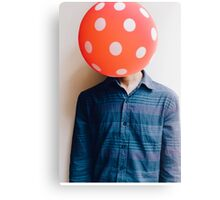 balloon head Canvas Print