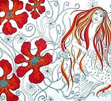 The Mermaids Garden by Alexandra Felgate
