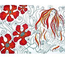 The Mermaids Garden Photographic Print