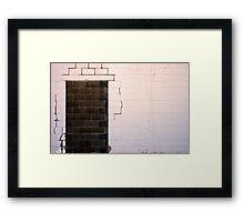 imaginery door...... Framed Print