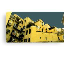 Italian houses Canvas Print