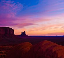 Monument Valley Sunrise by Nickolay Stanev