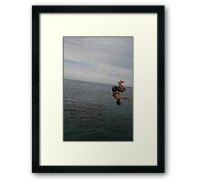 upside Framed Print