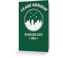 Team Arrow Greeting Card