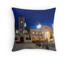 The Main square Throw Pillow