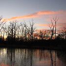 Freezing The Sunset by NatureGreeting Cards ©ccwri