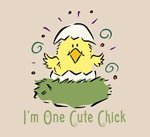 """Easter Chick """"I'm One Cute Chick"""" T-Shirt"""