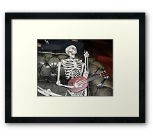 Zombie IPhone case Framed Print