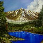 mountain serenity by jentson