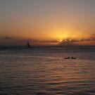 Waikiki Sunset by Rosy Kueng