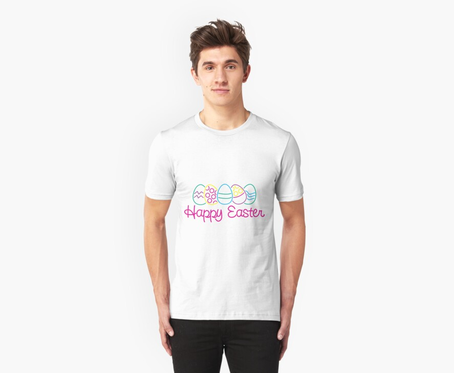 Happy Easter by HolidayT-Shirts