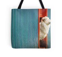 A Sheep Named DJ Tote Bag