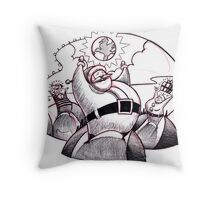 Santa Hills Throw Pillow