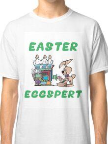 """Happy Easter """"Easter Eggspert"""" Classic T-Shirt"""
