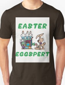 "Happy Easter ""Easter Eggspert"" T-Shirt"