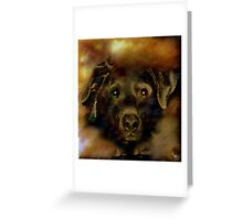 JADE-MY SPECIAL LAB Greeting Card