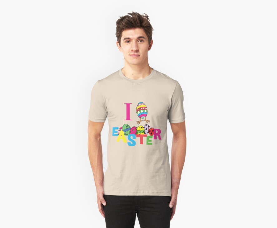 "Easter ""I Love Easter"" by HolidayT-Shirts"