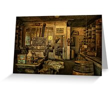 Bodie Mercantile Greeting Card