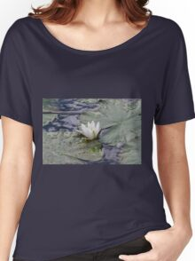 waterlily in the lake Women's Relaxed Fit T-Shirt