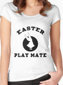 "Easter ""Playmate"" Women's Women's Fitted Scoop T-Shirt"
