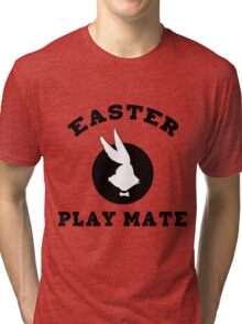 "Easter ""Playmate"" Women's Tri-blend T-Shirt"
