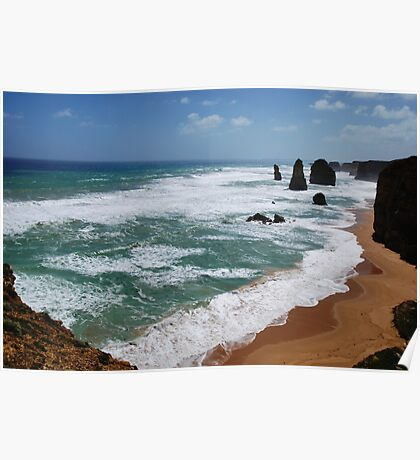 12 Apostles Port Campbell National Park Vic.Australia !!! Poster