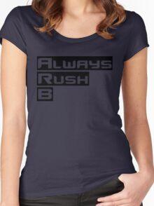 Always Rush B Women's Fitted Scoop T-Shirt