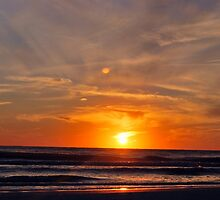 Gulf Coast Sunset by Colleen Friedman
