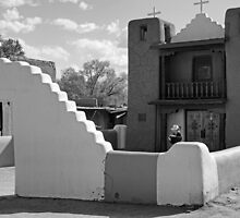 Church of San Geronimo, Taos Pueblo by Harry Oldmeadow