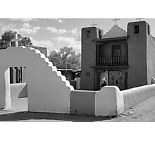 Church of San Geronimo, Taos Pueblo Photographic Print