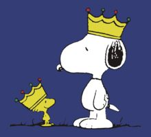 Snoopy & Woodstock Kings by RedbubblePro