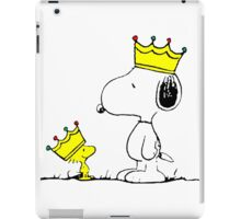 Snoopy & Woodstock Kings iPad Case/Skin