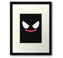Pokemon - Gastly / Ghos V.2 Framed Print