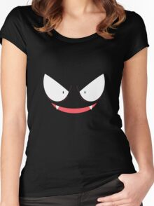 Pokemon - Gastly / Ghos V.2 Women's Fitted Scoop T-Shirt