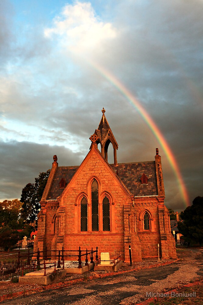 Bendigo Cemetery, Victoria, Australia by Michael Boniwell