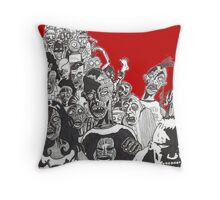 undead crew Throw Pillow