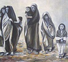Afghan Women by Norbert Haupt