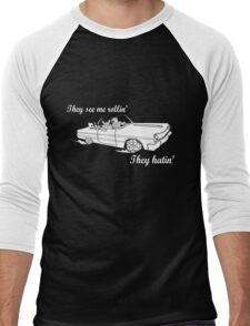 Dungeon Rider - They see me rollin' Men's Baseball ¾ T-Shirt