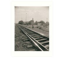 Alberta Rail Art Print