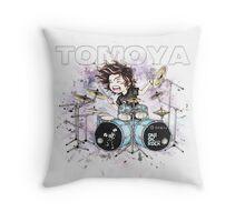 Chibi Tomoya (bag/pillow white) Throw Pillow